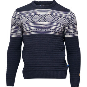 Ivanhoe of Sweden Mattis Crew Neck Sweater Men navy